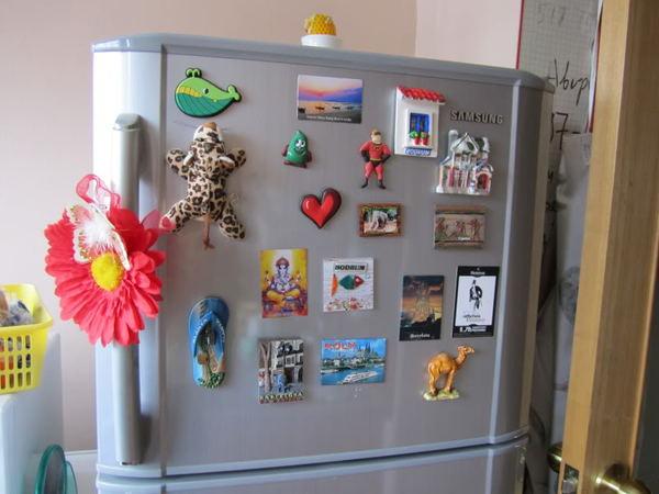 Магнит на холодильник из фото своими руками